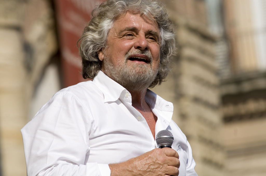 Beppe Grillo | CC Copyright: Giovanni Favia