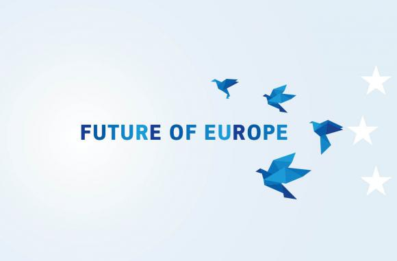 White Paper on the Future of Europe cover