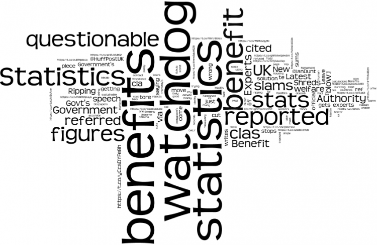 Figure 4. Word cloud for the open borders group