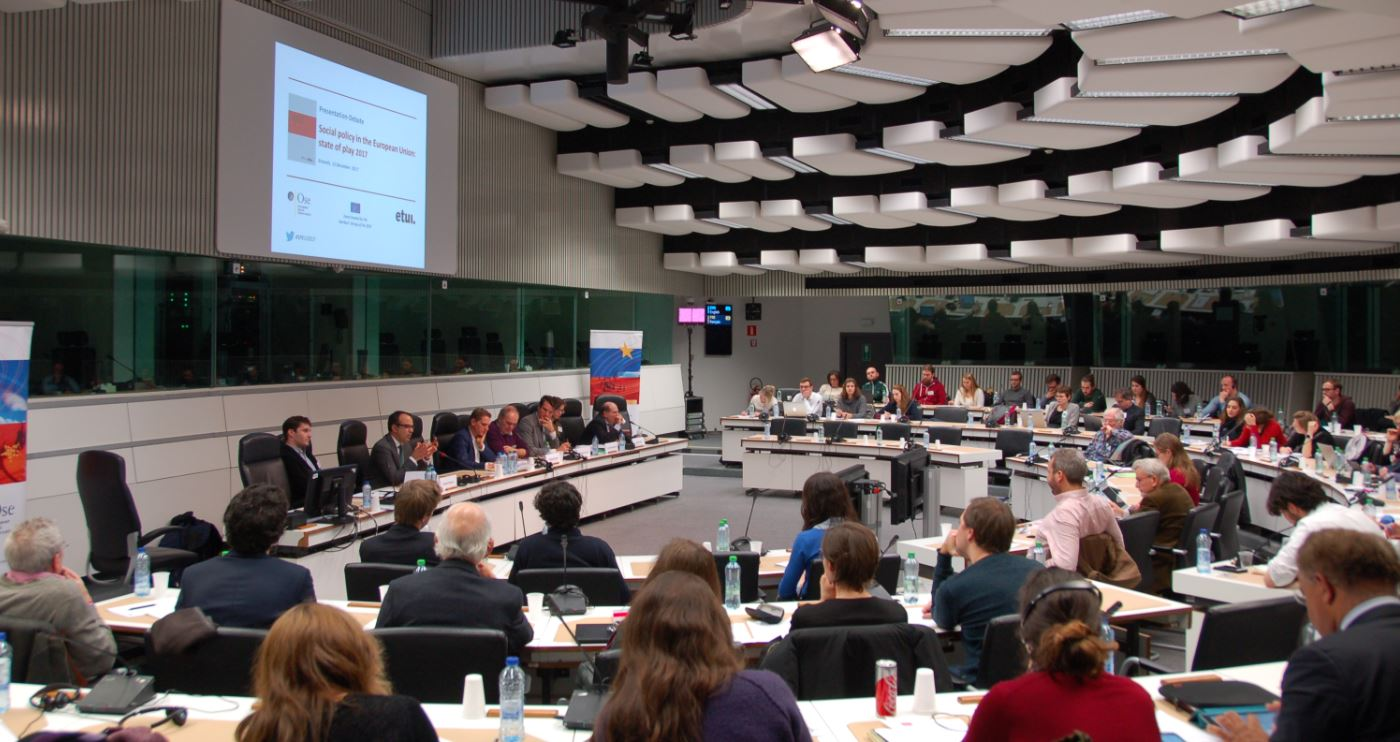 High-level debate at the EESC, in Brussels on Social Policies in the European Union